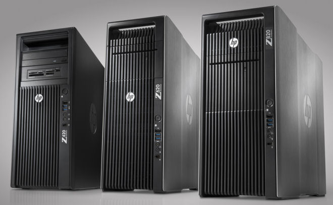 Post image for Números enormes: novas workstations da HP (Z420, Z620 e Z820)